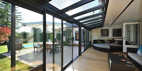 veranda isolation thermique rev tements modernes du toit. Black Bedroom Furniture Sets. Home Design Ideas
