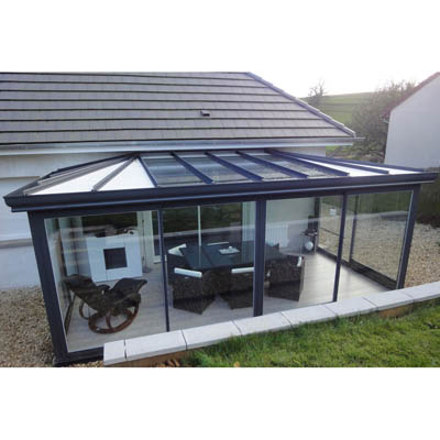 photographie veranda 20m2 kit