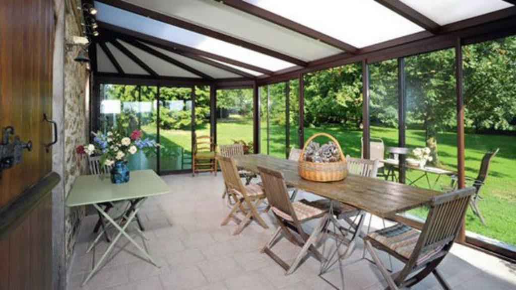 exemple veranda 40m2 prix