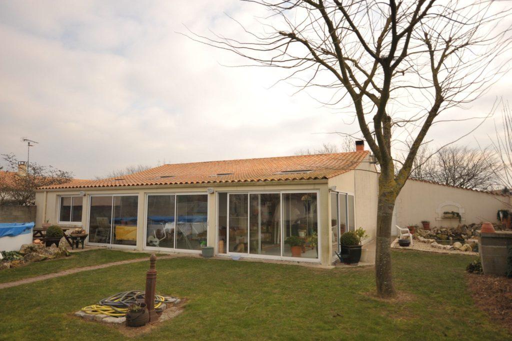 modèle veranda 50m2