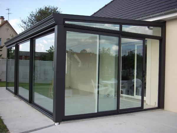 modèle veranda isolée
