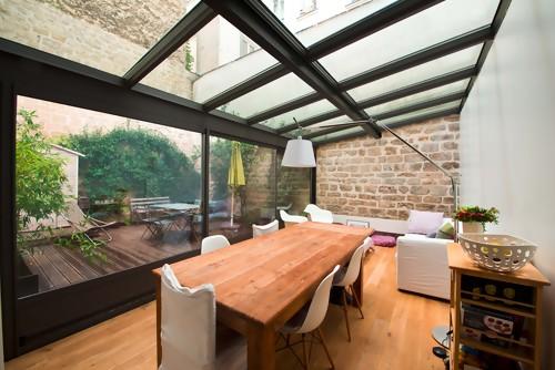 superbe veranda isolée