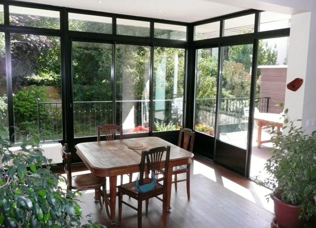 visualiser veranda isolée