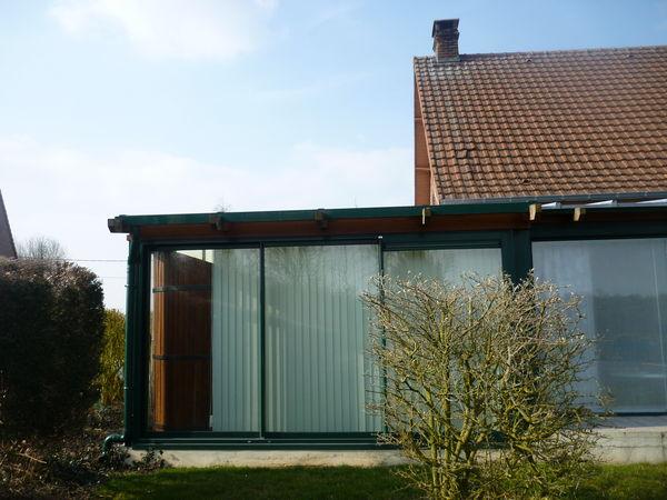 superbe veranda 16m2