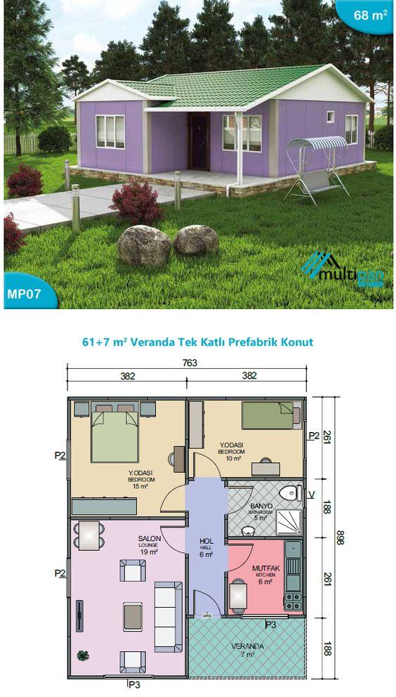exemple veranda 6m2