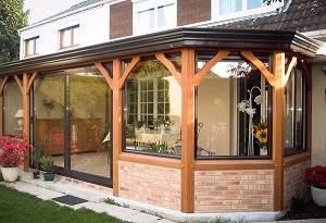 V randa bois prix ma v randa - Tarif veranda rideau ...