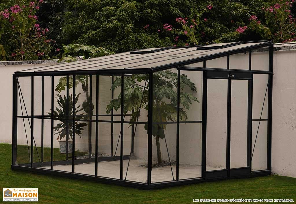photo véranda jardin aluminium