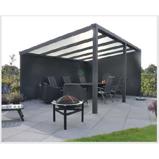 modèle véranda jardin aluminium