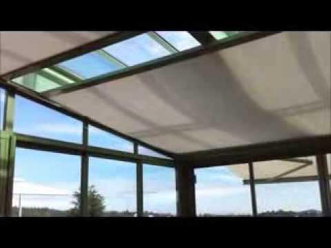 photographie véranda toit ouvrant