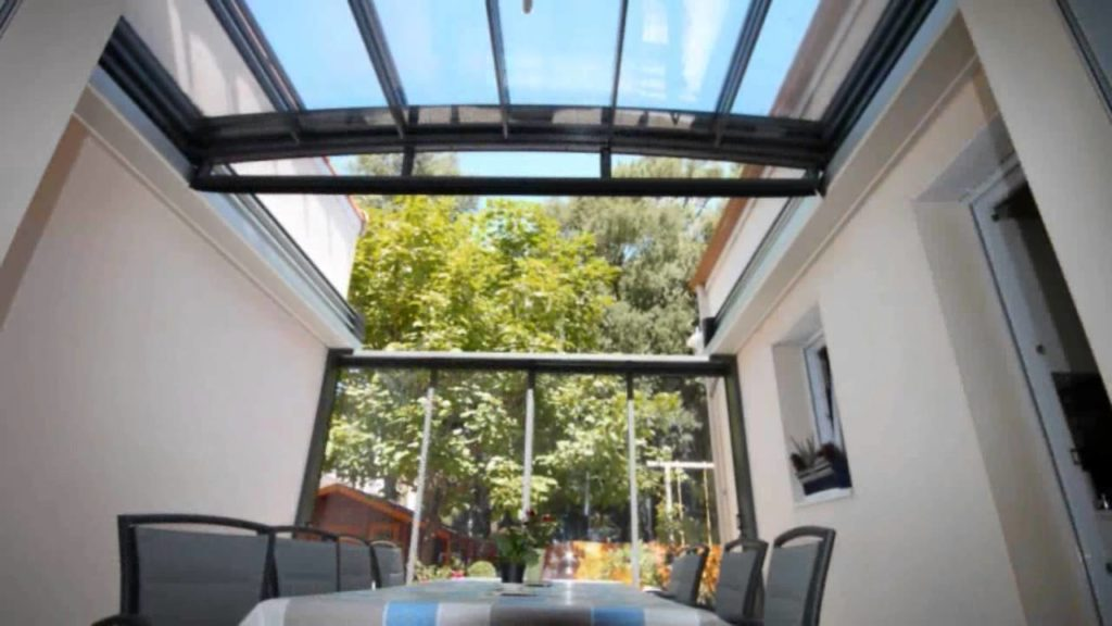 visualiser véranda toit ouvrant