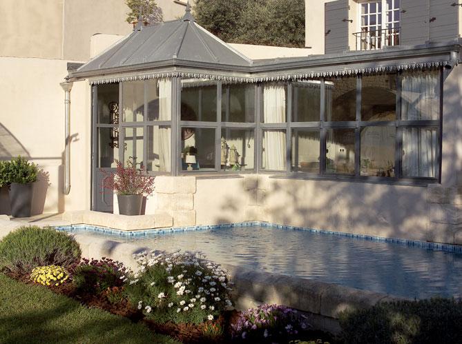 modèle veranda zinc