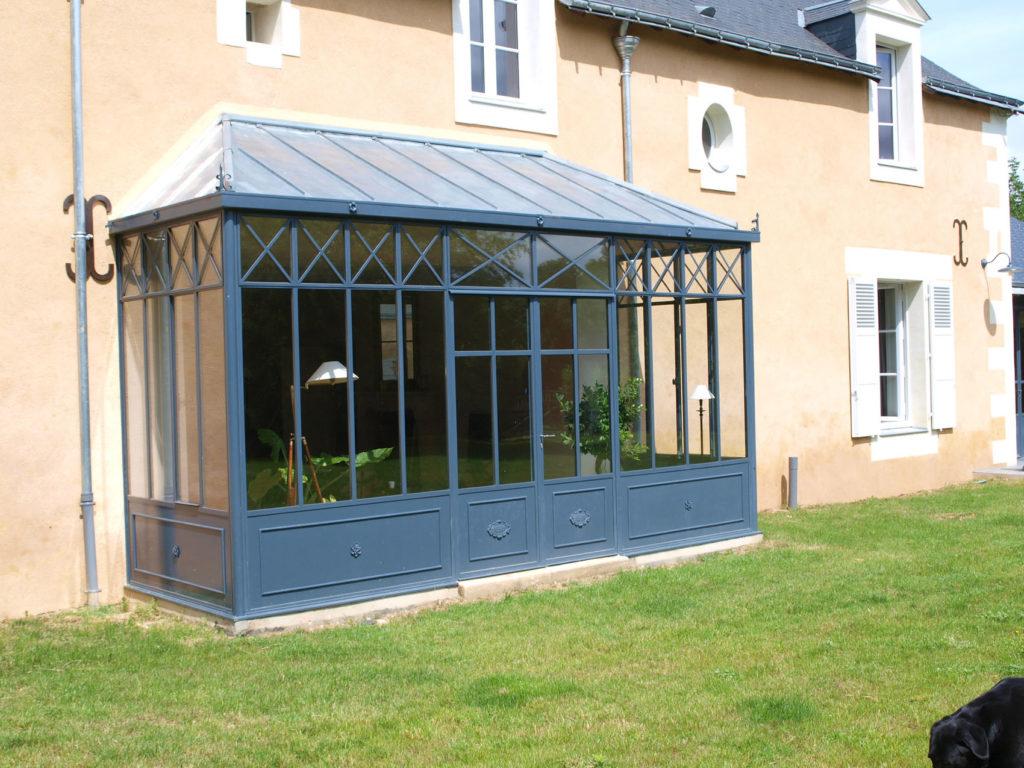 exemple veranda zinc