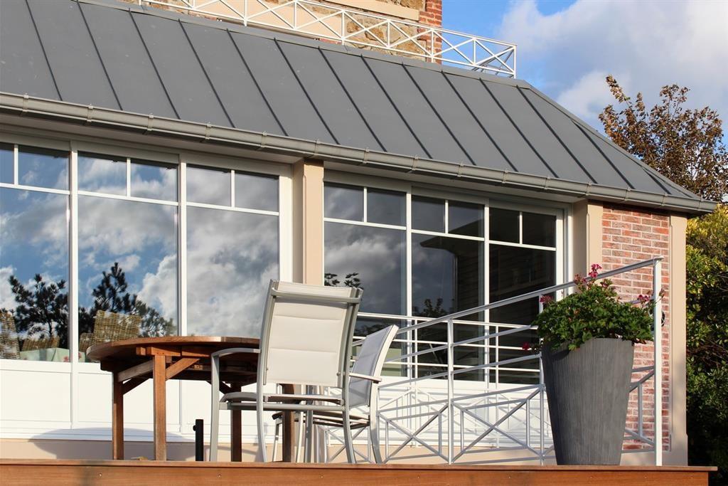 photographie veranda zinc