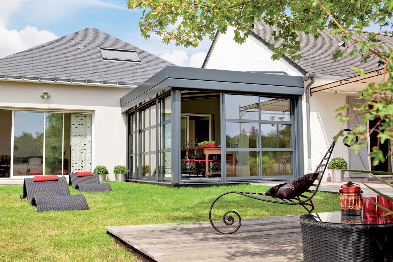 Extension maison veranda prix beautiful excellent extension maison veranda u caen u decore - La veranda caen ...