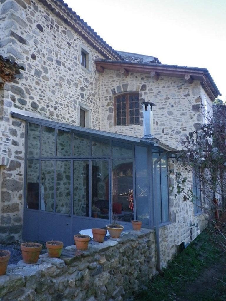 modèle véranda maison ancienne