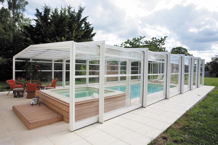 exemple véranda pour piscine