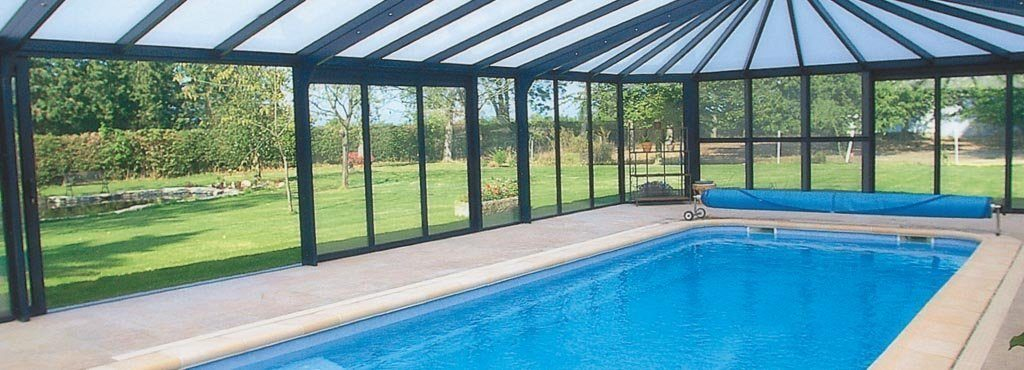 visualiser véranda pour piscine