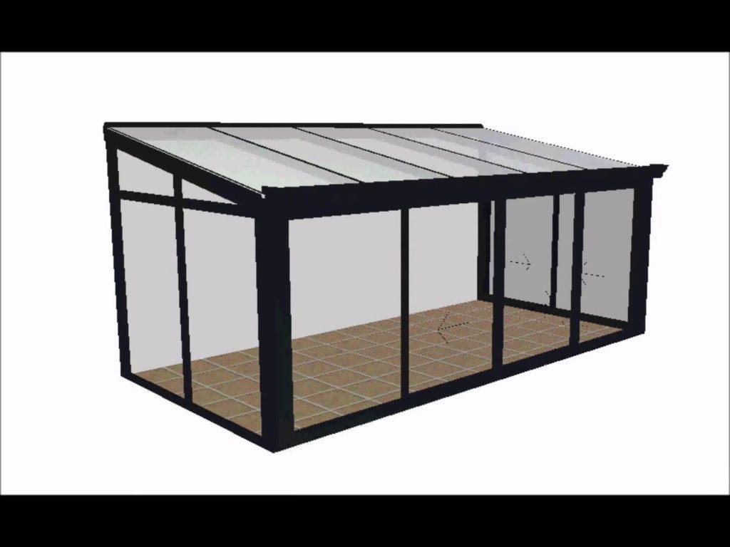 modèle veranda 20m2