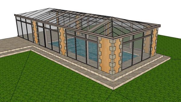 exemple veranda 50m2 prix