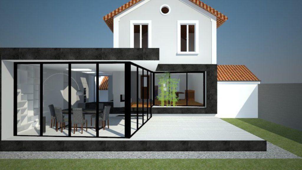 visualiser veranda 50m2 prix