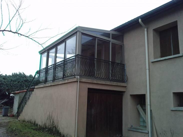 image véranda balcon