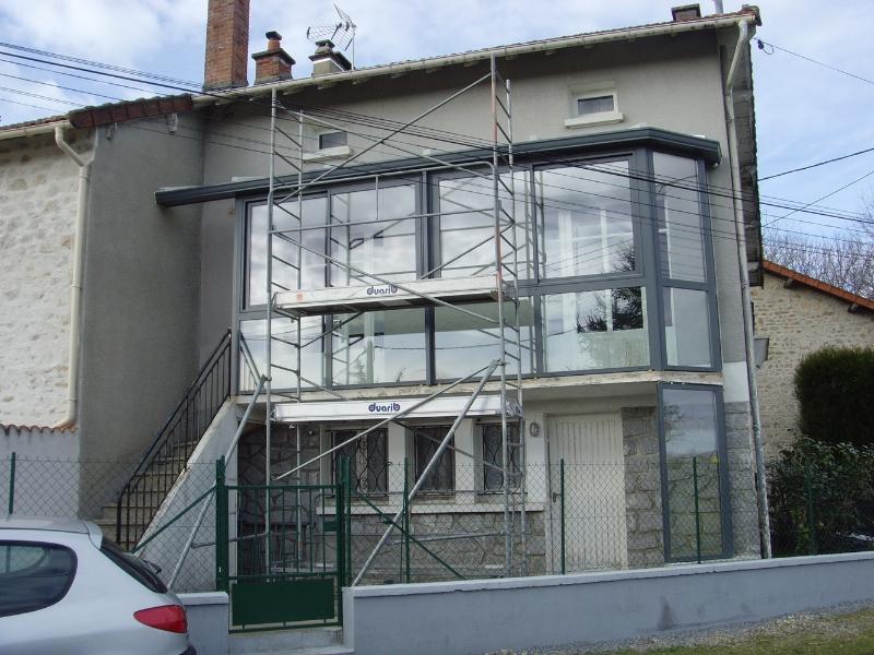 exemple véranda balcon