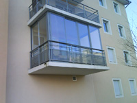 photographie véranda balcon