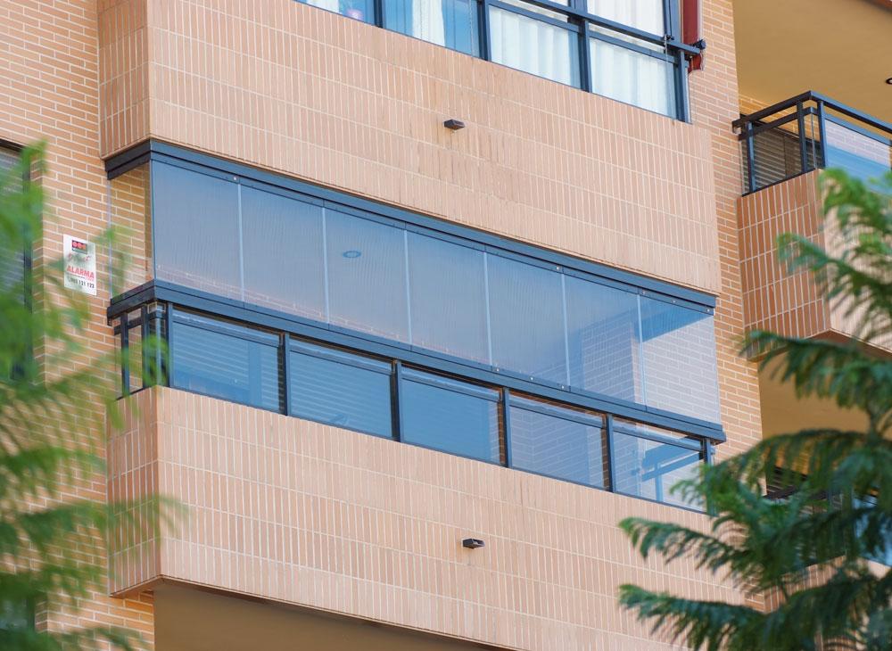 image véranda fermeture de balcon