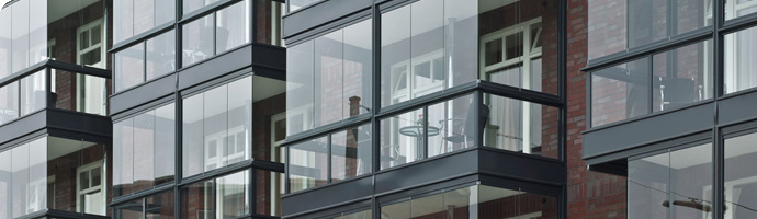 exemple véranda fermeture de balcon