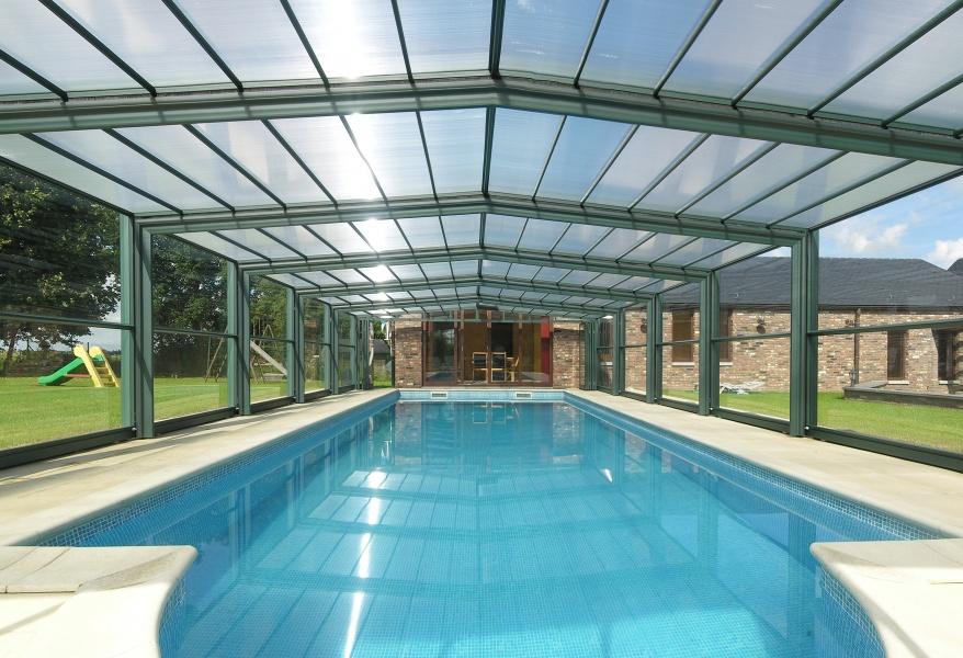 superbe véranda piscine